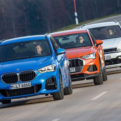 Most kiderül, a BMW legkisebb SUV-je elbír-e a VW-nel