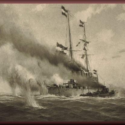 Az Osztrák-Magyar Haditengerészet első tengeri csatája az első világháborúban