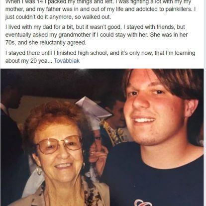 A nagymamámnak köszönhetem, hogy tisztességes ember lett belőlem! - Megható vallomás egy egykor zűrös tinitől