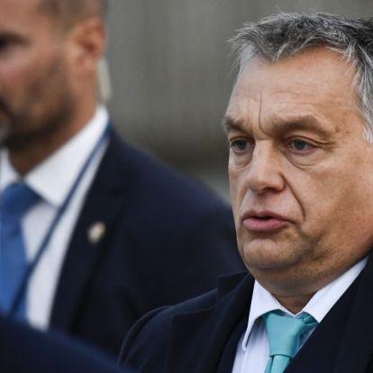 Tüntetők várták Orbánt Berlinben (+videó)
