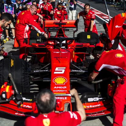 F1: Teljesen átszabták a 2020-as Ferrarit