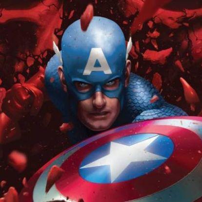 Mikor minden remény elfogy majd, Amerika Kapitány vére menti meg a világot