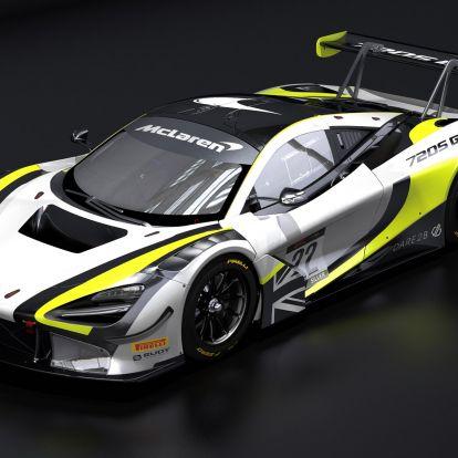 Brawn GP-festésű GT-autóval fog versenyezni Jenson Button