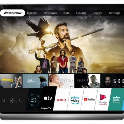 A 2019-es LG tévékre is érkezik az Apple TV