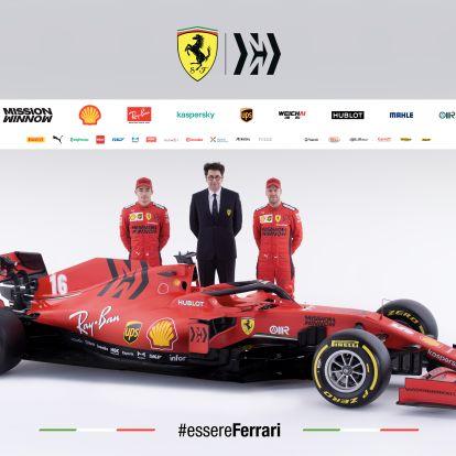 F1: Okos és extrém megoldások az új Ferrarin
