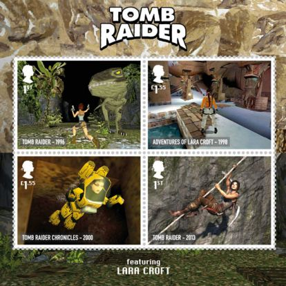 Level up: Hidden UV feature revealed on Royal Mail gaming stamps