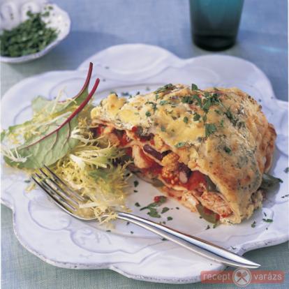 Azték csirkés tortilla - Egzotikus receptek - Receptvarázs – receptek képekkel