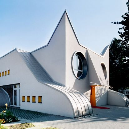 """Less is a Bore book celebrates """"postmodern architecture in all its forms"""""""