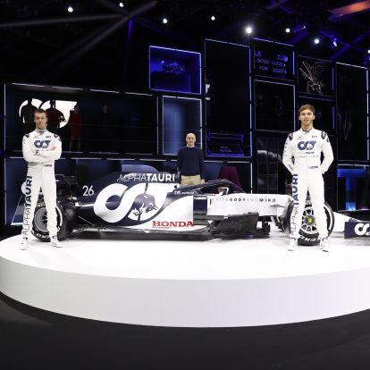 F1: Pályán az AlphaTauri autója – videó