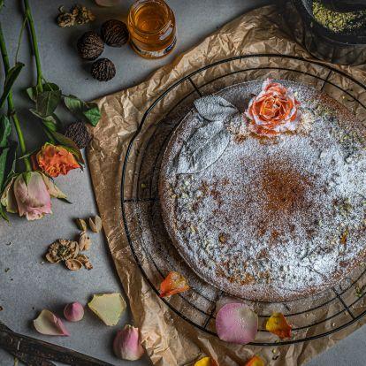 Gluténmentes, illatos perzsa szerelemtorta