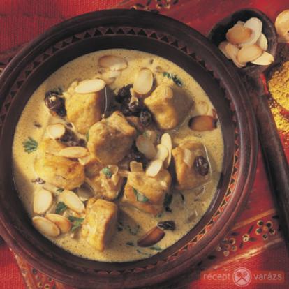 Currys csirke - Egzotikus receptek - Receptvarázs – receptek képekkel