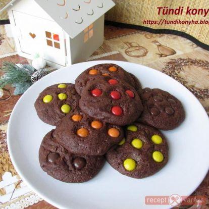 Brownie keksz - Sütemények - Kipróbált, fényképes sütemény receptek a receptvarázson. - Receptvarázs – receptek képekkel