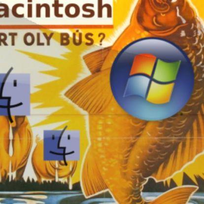 Mondja Macintosh, mért oly bús?