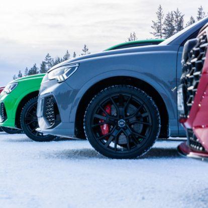Láncfűrész a hátadba, Győrből, szeretettel - Bemutató: Audi RS Q3 - 2020.