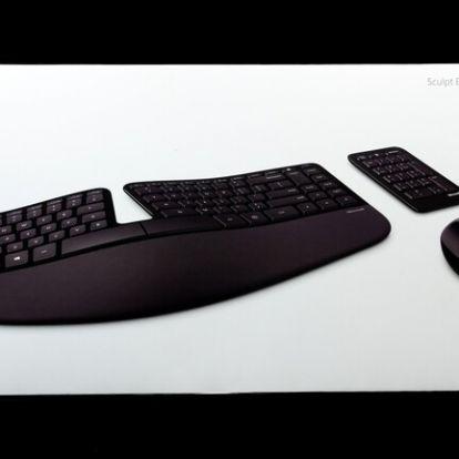 Tegyünk az egészségünkért: Microsoft Sculpt Ergonomic Desktop teszt