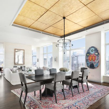Explore Jennifer Lawrences light and airy Manhattan penthouse