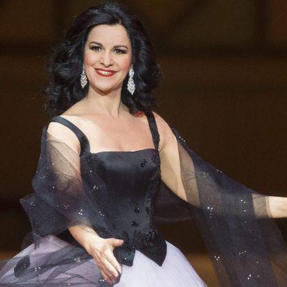 Angela Gheorghiu szoprán ad koncertet a Margitszigeten
