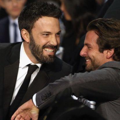 Ben Afflecket Bradley Cooper rángatta ki az alkoholizmusból