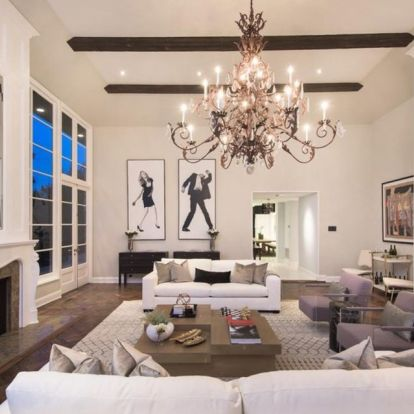 Explore Calvin Harris stunning Hollywood mansion