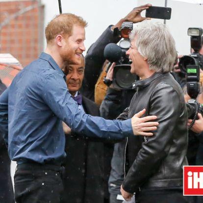 ¿Quién canta mejor, el príncipe Harry o el príncipe Guillermo? Bon Jovi responde