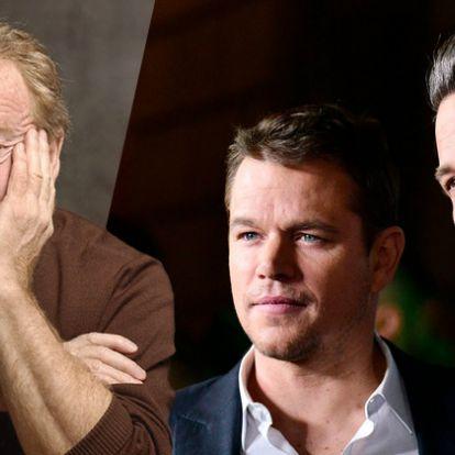 Szőke Ben Affleck, szakállas Matt Damon, kiszivárgott forgatási fotókon a The Last Duel - Mafab.hu