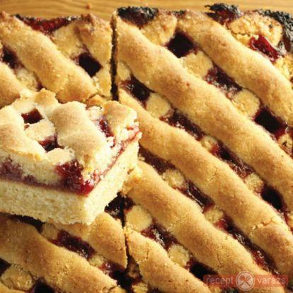Málnalekváros rácsos süti - TV Paprika Receptek - Receptvarázs – receptek képekkel