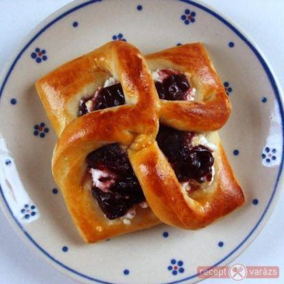 Túrós-meggyes sütemény - kipróbált fényképes sütemény receptek - Receptvarázs – receptek képekkel