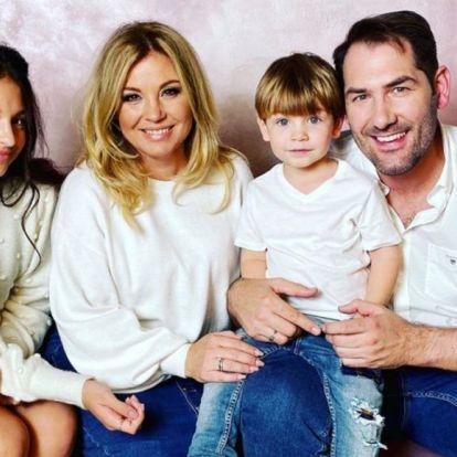 Liptai Claudia megmutatta családjuk új tagját