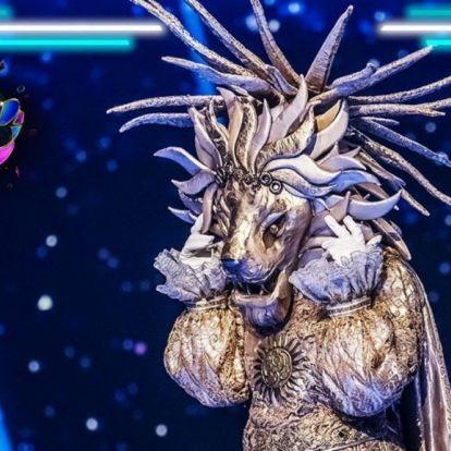 Álarcos énekes: Opitz Barbi volt az Oroszlán maszk mögött