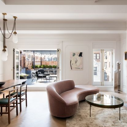 Peek inside Anne Hathaway's neo-Georgian New York penthouse – yours for $3.5m