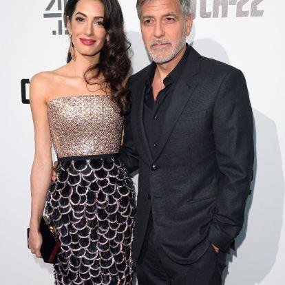 George és Amal Clooney már a válást fontolgatja