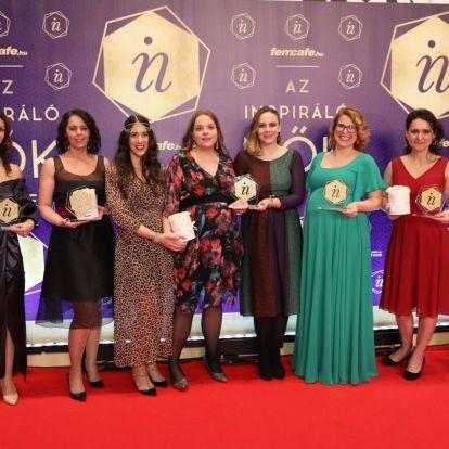 Teltházas bulin, sztárokkal ünnepelte a Femcafe az Inspiráló Nők Gála díjazottjait