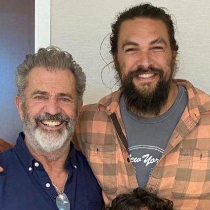 Jason Momoa lefotóztatta magát Mel Gibsonnal, és mellette ódát is zengett róla