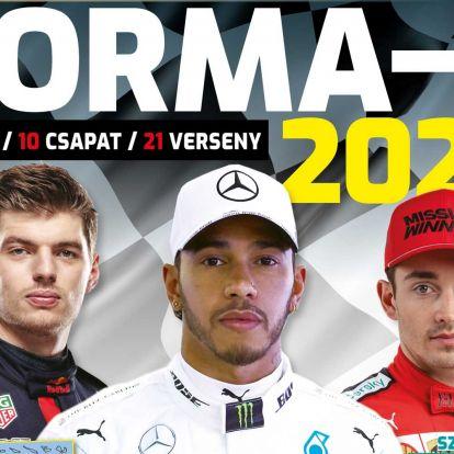 Megjelent a Forma-1 rajt 2020 magazin! (X)