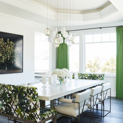 Design Project: A Traditional Beach House Gets a Dose of Whimsy Glamour