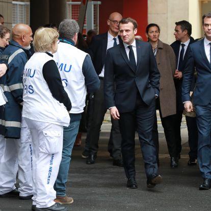 Több mint 300-zal nőtt a francia koronavírusos betegek száma