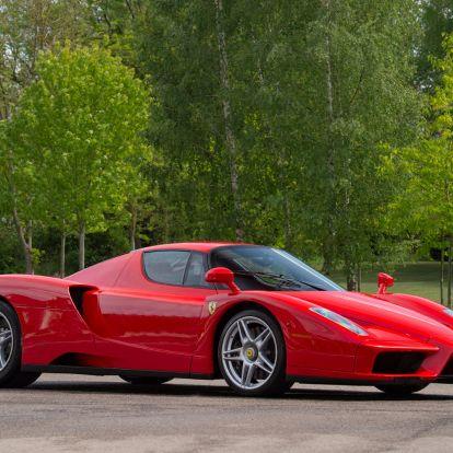 Ez a valaha gyártott második Ferrari Enzo