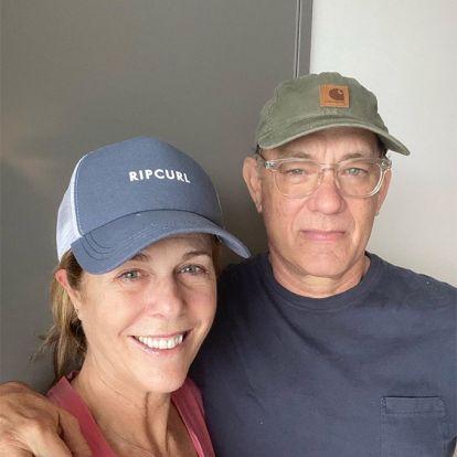 Tom Hanks y su mujer Rita Wilson comparten una foto de su cuarentena para tranquilizar a sus fans