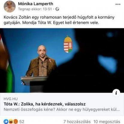 Lamperth Mónika szerint nem kizárható, hogy a kormány ki akarja irtani az időseket