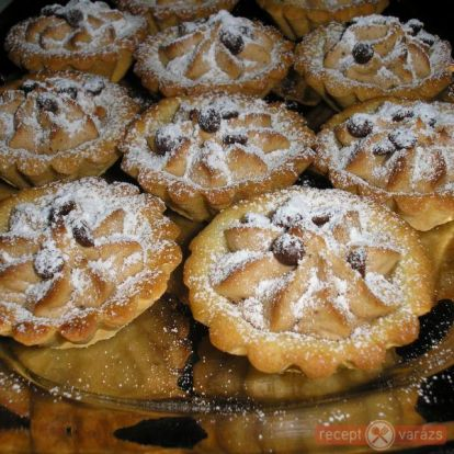 Gesztenyés kosárka recept - Gesztenyés sütemény receptek - Receptvarázs – receptek képekkel