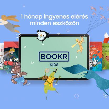 Ingyenes interaktív hangoskönyvek 1 hónapon át a BOOKR Kids Mesetárban!