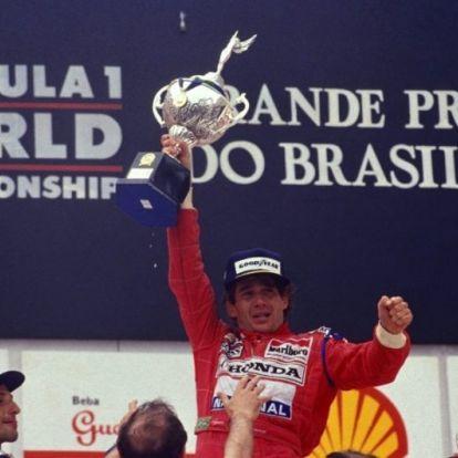 A versenyzés a vérében volt - Ayrton Senna 10 legemlékezetesebb győzelme