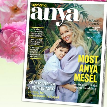 Március 28-tól vár az Anya magazin!