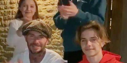 La familia Beckham, Daniel Craig y Rachel Weisz... Las 'celebrities' se unen al aplauso solidario