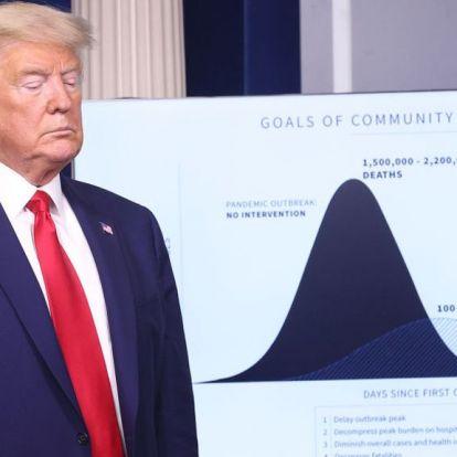 Trump: Zord napok várnak az amerikaiakra
