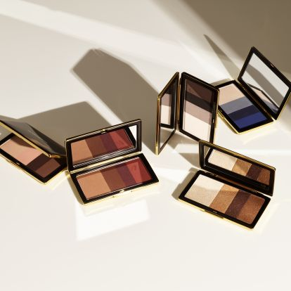 Victoria Beckham Beauty's Smoky Eye Brick In Silk Is Your Neutral Palette, But Shimmery