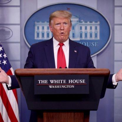 Trump bátor: nem vesz föl szájmaszkot