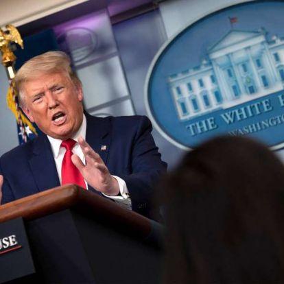 Trump: A maszkok viselése nem helyettesítheti a társadalmi elkülönülés előírásait