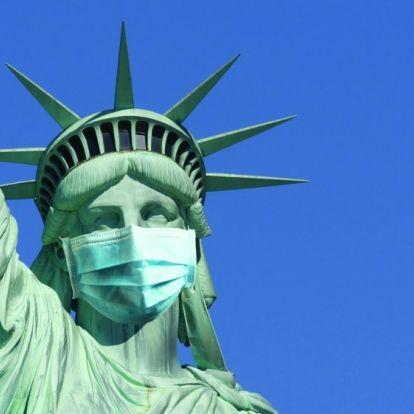 Egyesült Államok - egyetlen nap alatt közel 1500-zal nőtt a halottak száma