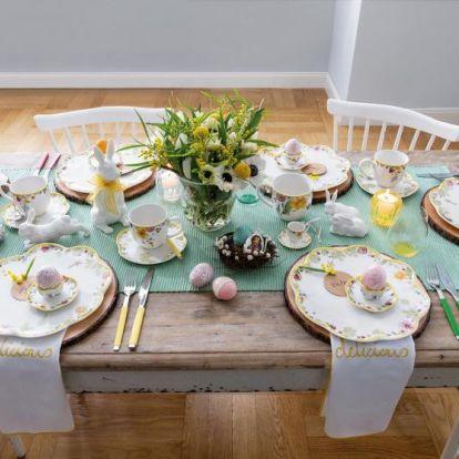 Húsvéti asztaldekoráció: ötletek az ünnepi asztalhoz